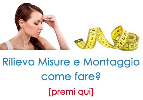 Misure Porte Interne Negozi Roma Milano e Online