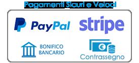 Prezzi Porte Interne pagamenti Paypal Stripe Bonifico Contrassegno